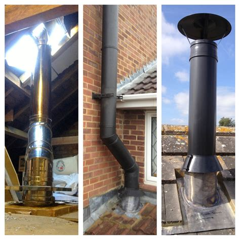 Fireplace Pipe by Stove Installation Photos Exles Of Our Work Firecrest