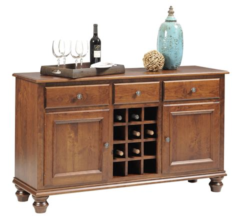 Legacy Amish Handcraft Furniture - wentworth amish style buffet server