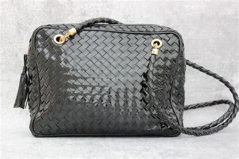 Bottega Veneta Deerskin Purse With Patent Teeth by Bottega Veneta Patent Leather Woven Shoulder Bag At S