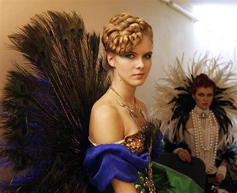 outrageous hairstyles   charity bit rebels