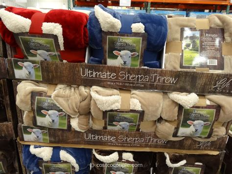 life comfort sherpa throw costco ultimate sherpa throw