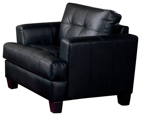 coaster contemporary accent chair coaster samuel contemporary leather chair modern