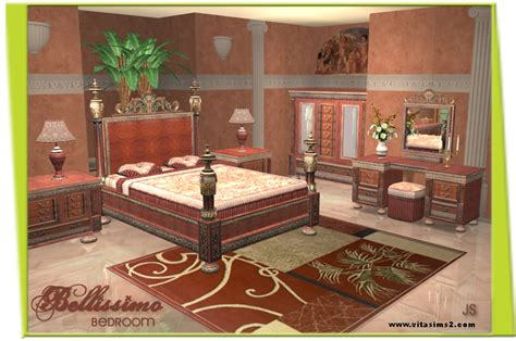 bellissimo bedroom set vitasims