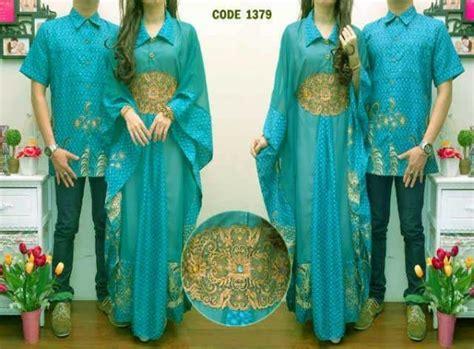 Baju Muslim Kaftan Tosca busana gamis muslim batik safira cp1014
