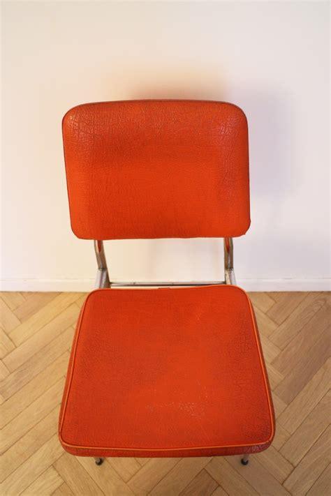 chaise vintage pas cher chaise vintage pas cher orange 70 s luckyfind