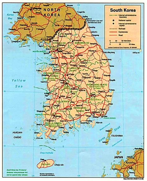 physical map of south korea south korea geography buddhachannel