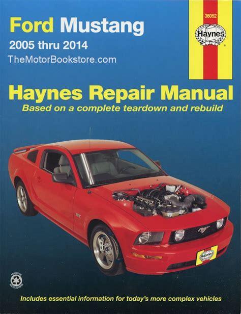 auto repair manual free download 2009 ford gt500 seat position control ford mustang gt v6 v8 repair manual 2005 2014 haynes 36052