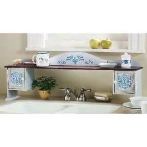 chicken rooster the sink shelf country kitchen decor
