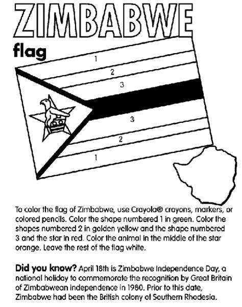 zimbabwe coloring page crayola com