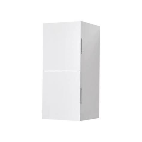bathroom linen side cabinet bathroom high gloss white linen side cabinet w 2 storage