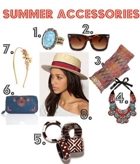 8 Accessories For Summer 8 summer accessories starting at 8