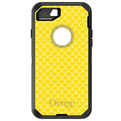 Iphone 7 Plus Nike Yellow Blue Hardcase custom otterbox defender for iphone 6 6s 7 plus yellow white scalloped pattern ebay
