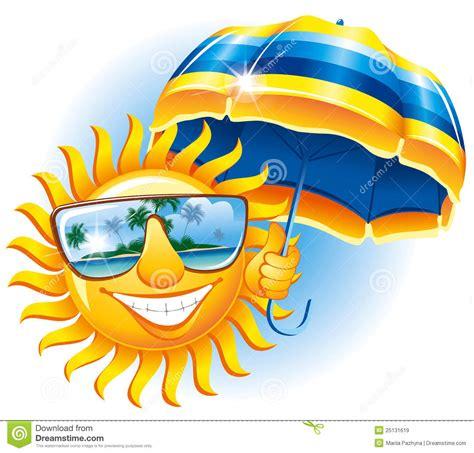 imagenes sol alegre sol alegre con un paraguas im 225 genes de archivo libres de