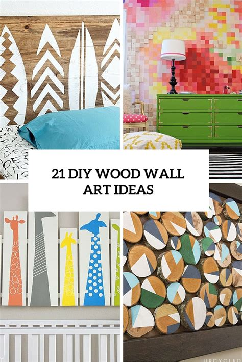 diy wall ideas 21 diy wood wall pieces for any room and interior shelterness