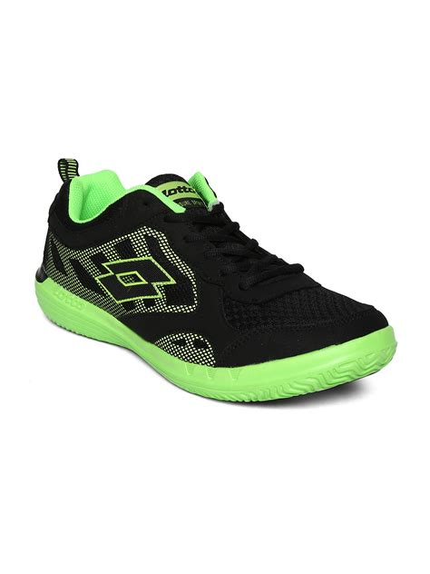 sports shoes for lotto myntra lotto black quaranta iii sports shoes 712888