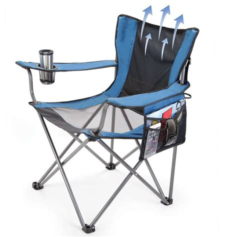 Lawn Chairs by The Fan Cooled Portable Lawn Chair Hammacher Schlemmer
