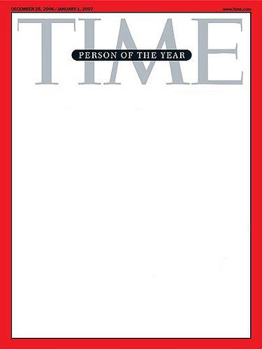 you are the person of the year make your own time person