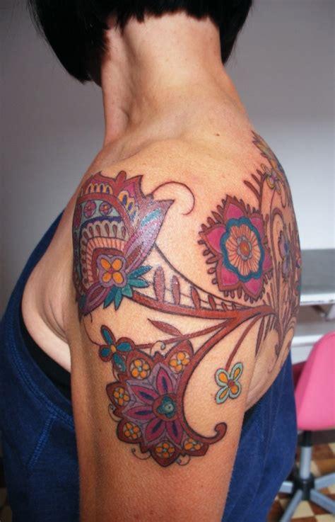 henna inspired tattoo tumblr shoulder henna