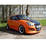 Modified Suzuki Swift Orange  Fast And Furious Chick