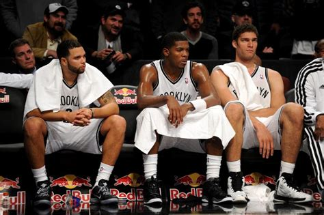 brooklyn nets bench bondy still a lot of new jersey franchise in these