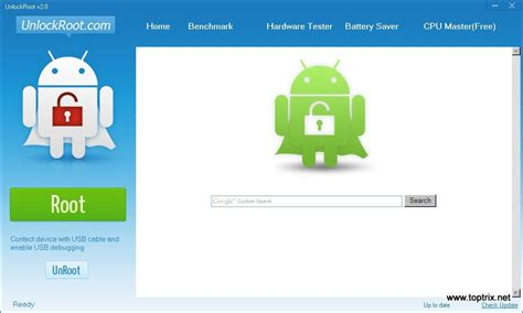 android rooter root unroot android device with one click toptrix