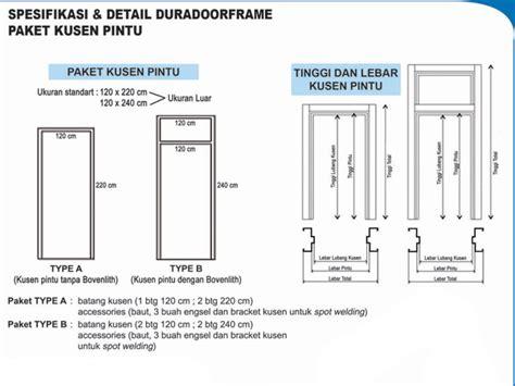 supplier kusen pintu galvanis dura door frame wilayah