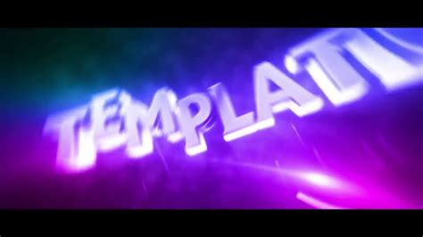 3d intro template free 3d intro template by gizemlifx ae cs4 1dl