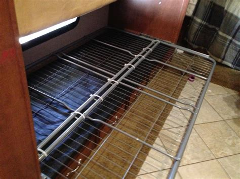 rv futon livelyrv how to install a futon in a rv bunkhouse
