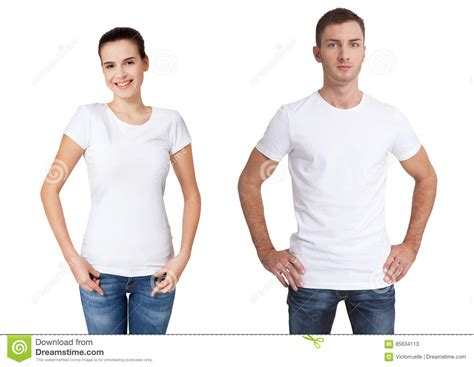 Tshirt Mens White Front shirt design and concept up of and in blank white t shirt