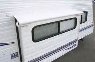carefree lh0970042 white slideout cover awning rv