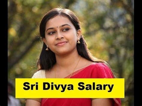 actress salary in tamil cinema actress sri divya salary 2014 tamil actress salary 2014
