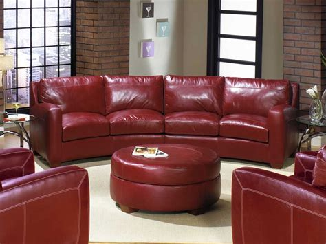 curved leather sectional sofa curved leather sofas contemporary curved sectional sofa in