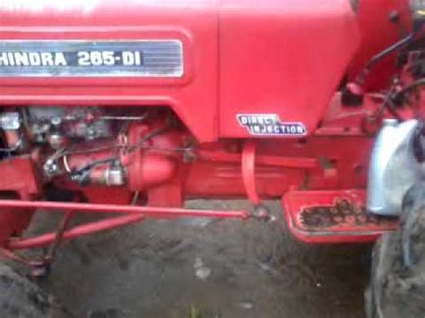 mahindra tractor 265 model price mahindra 265 di tractor on road price specification feature