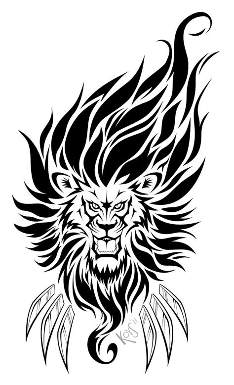 black lion tattoo designs 82 design sketches