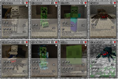 printable trading card games 8 best images of printable minecraft cards printable