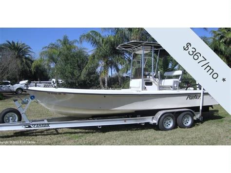 used parker bay boats for sale parker big bay 2300t in texas power boats used 49995