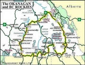okanagan and kootenay rockies circle tour
