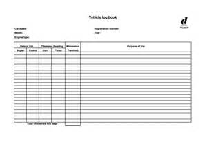 free log book template best photos of vehicle log book sle motor vehicle log