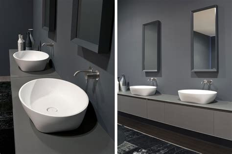 top mount bathroom sinks solidea top mount sink modern bathroom sinks miami
