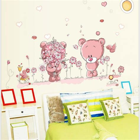 stickers chambre fille removable wall stickers decal wall post nursery baby children bedroom