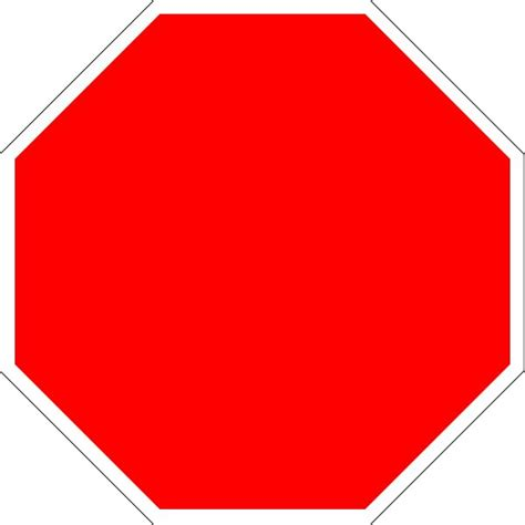 Blank Stop Sign Clip Free by Blank Stop Sign Free Clip Free Clip