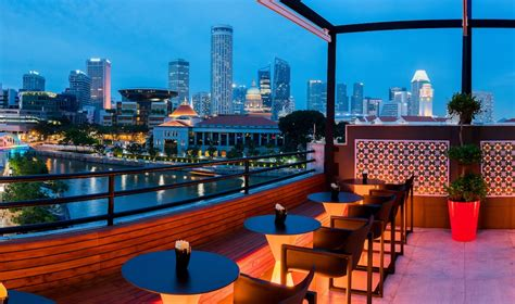 roof top bar singapore rooftop bars in singapore swanky sky high drinking spots