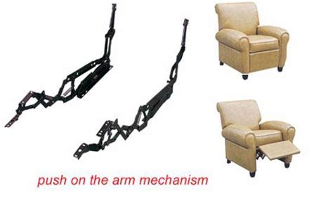 recliner mechanism parts suppliers push on the arm three way recliner mechanism id 3568858