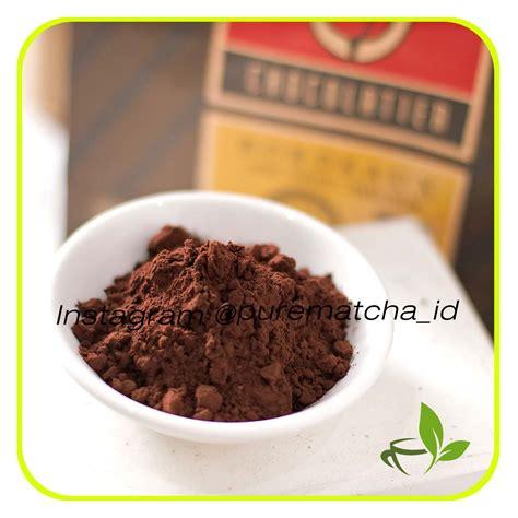 Houten Cocoa Powder Bubuk Kakao Bahan Makanan Minuman jual tulip chocolatier bordeaux cocoa kakao bubuk
