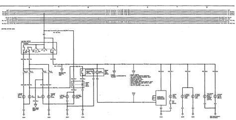acura integra 1991 wiring diagrams headls