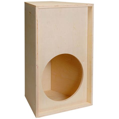 schrank pimpen pa knock trapezoid plywood speaker cabinet for 15 quot driver