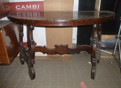tavolo mezzaluna tavolo a mezzaluna in noce xviii xix secolo