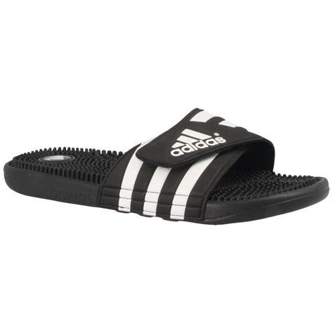 Adidas Flip Flop adidas adissage flip flops in black for