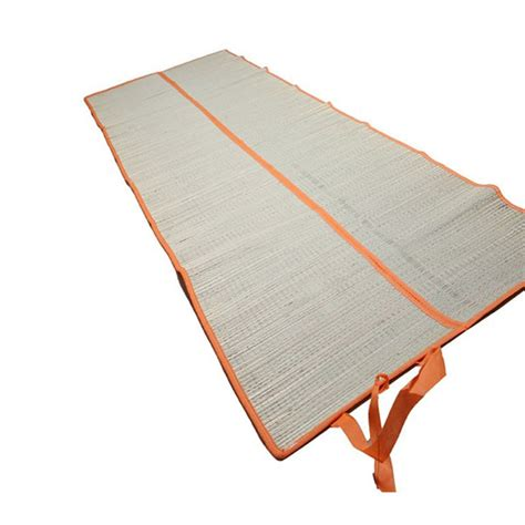Portable Mat by Folded Straw Mat Nature Portable Outdoor Leisure