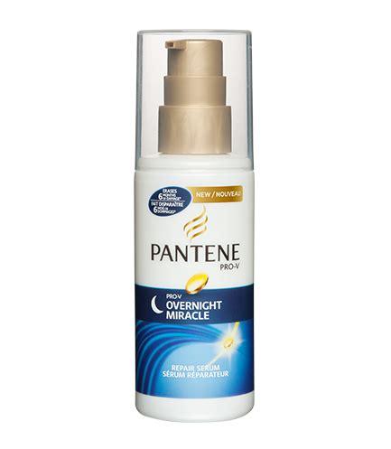 Serum Pantene overnight hair care with pantene pro v overnight miracle repair serum pantene and the